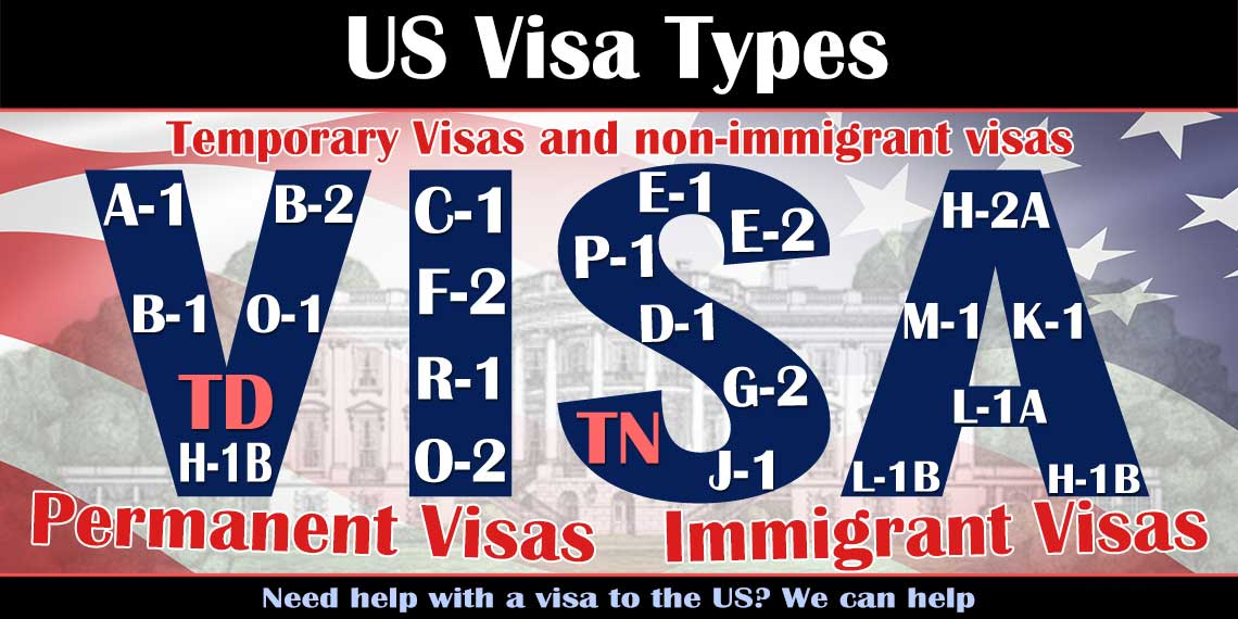 US Visa Types | Immigration Resource Law Guide | Near Me