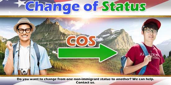 Change of Status