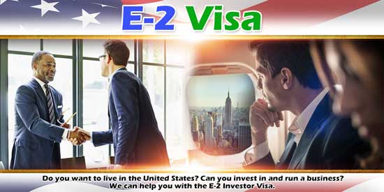 E-2 Visa Treaty Investor Montana Wyoming North Dakota
