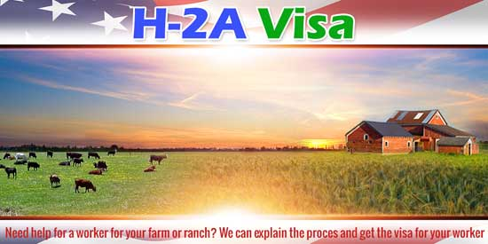 H-2A Visa Montana North Dakot Wyoming