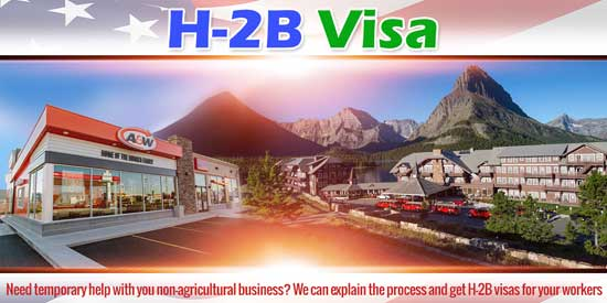 H-2B Visa Montana North Dakota Wyoming