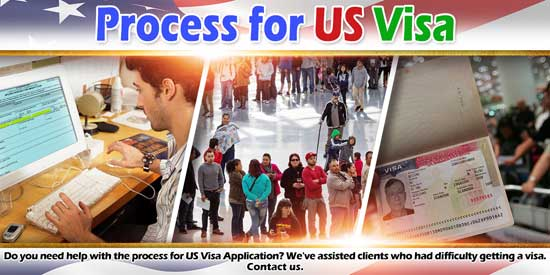 Process for US Visa Application