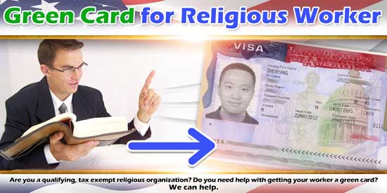 Green Card for Religious Worker