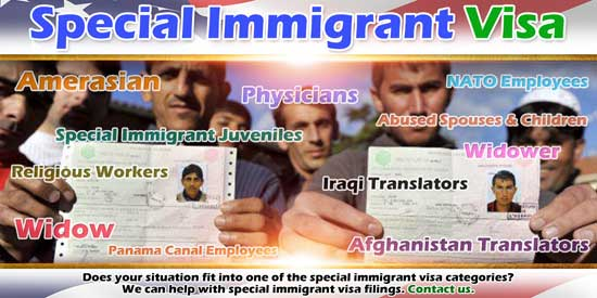 Special Immigrant Visa