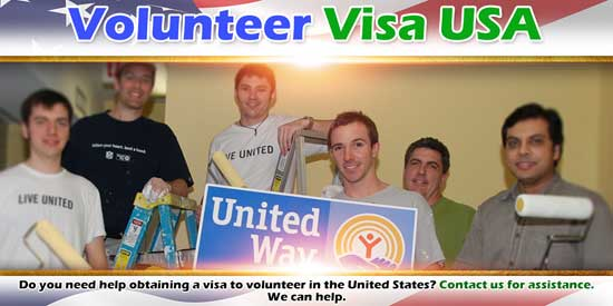 Volunteer Visa USA