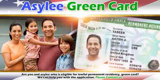 Asylee Green Card