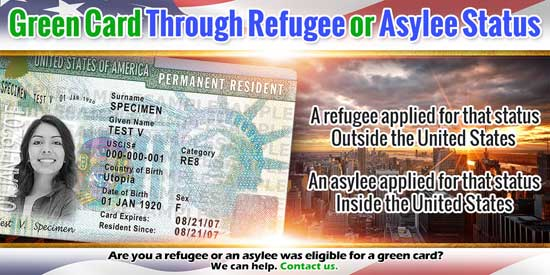 Green Card Through Refugee or Asylee Status